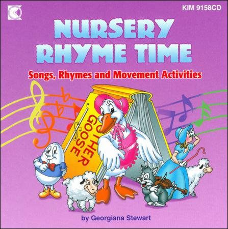 Nursery Rhyme Time Songs, Rhymes And Movement Activities - 28 Track Cd by Georgiana Liccione Stewart