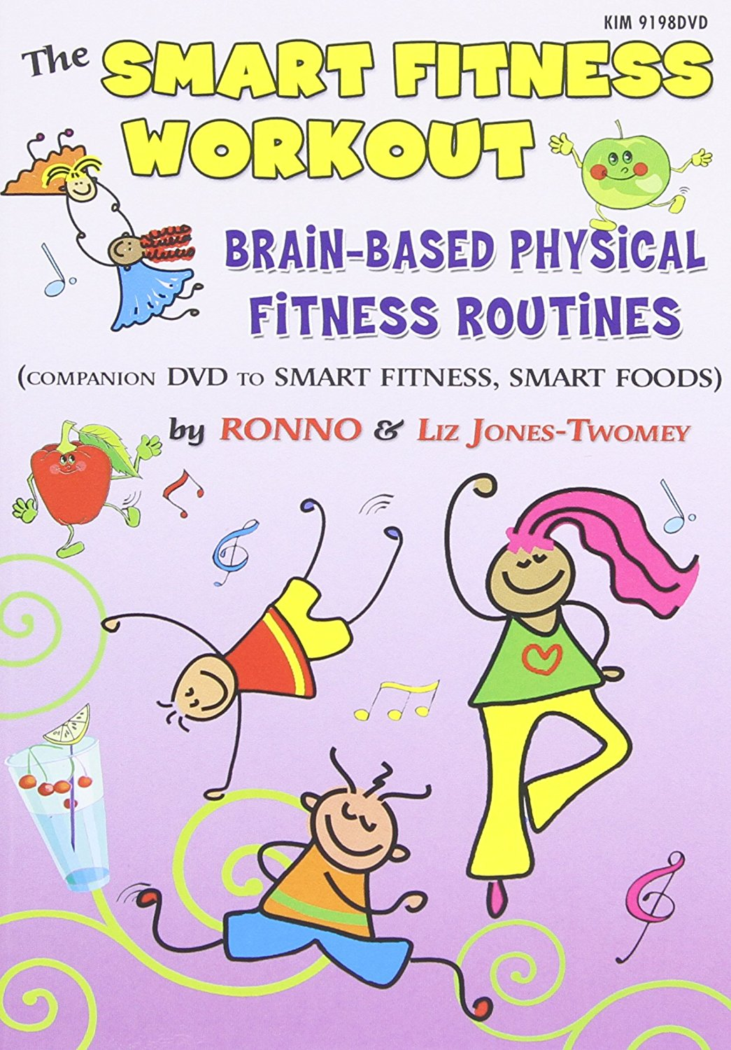 Smart Fitness Workout - Brain-based Motivating Physical Fitness Routines, Ronno by Kimbo Educational
