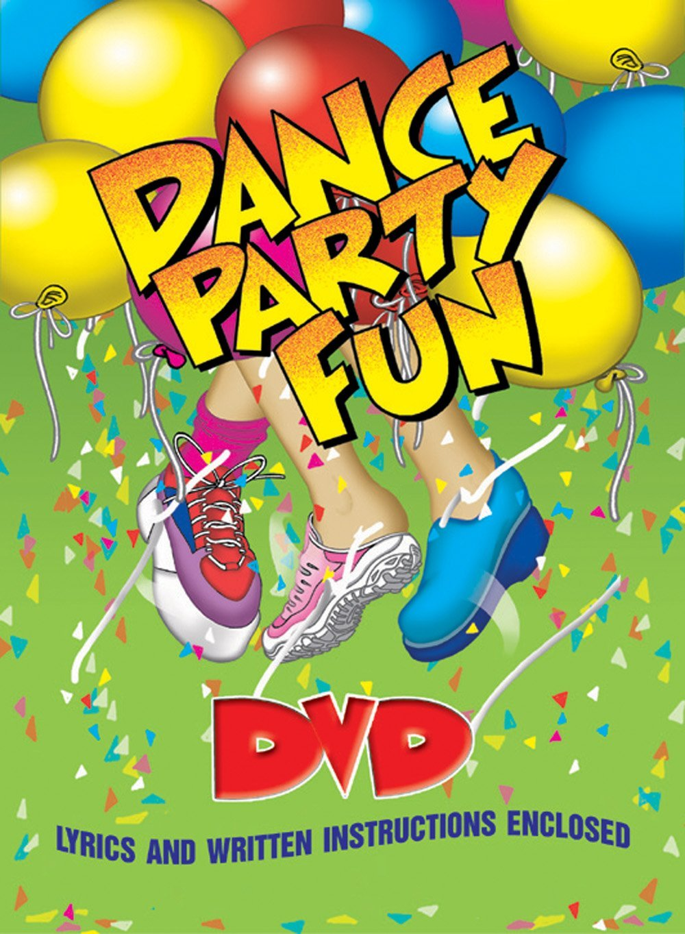 Dance Party Fun Includes Lyrics And Written Instructions by Kimbo Educational