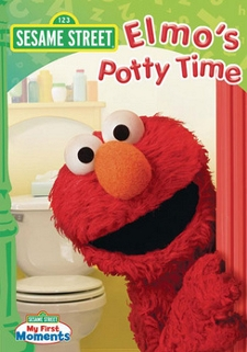 Elmo's Potty Time Dvd With Parents Guide - My First Moments by Sesame Street