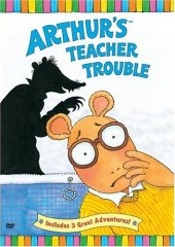 Arthur's Teacher Trouble, Spelling Trouble, Arthur Plays The Blues - 3 Great Adventures by Arthur And Friends