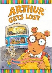 Arthur Gets Lost, Arthur Cleans Up, D.w. Gets Lost - 3 Great Adventures Arthur And Friends