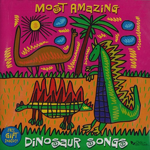 Most Amazing Dinosaur Songs -  Silly, Scary And Sing Along Songs - Narrated by Various Artists