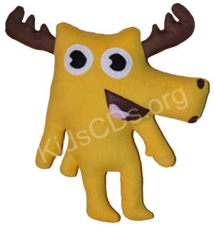 Moose A Moose Stuffed Animal Toy Soft Plush by Noggin Tv