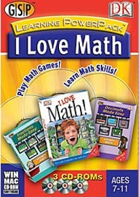 I Love Math Learing Power Pack - 3 Cd-rom Set For Windows/mac by