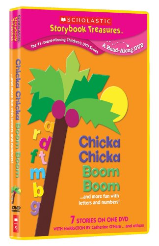 Chicka Chicka Boom Boom And More Fun With Letters And Numbers - Narrated Read-along Scholastic Storybook Treasures