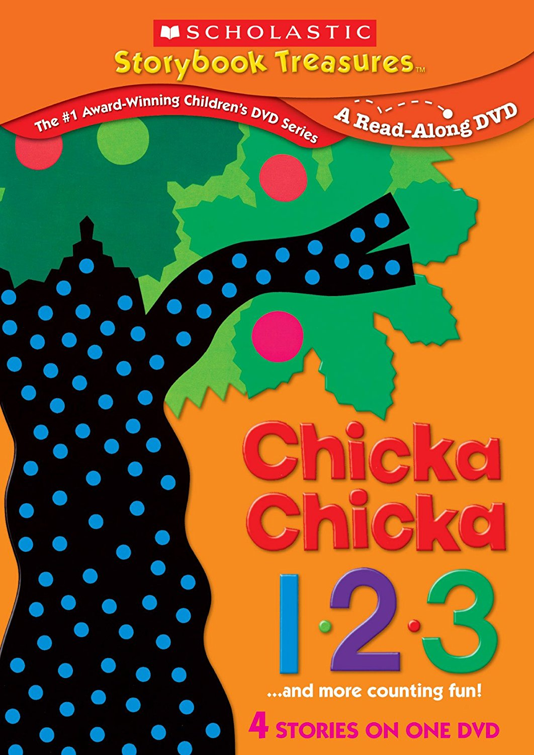 Chicka Chicka 123 And More Counting Fun - A Read Along Scholastic Storybook Treasures