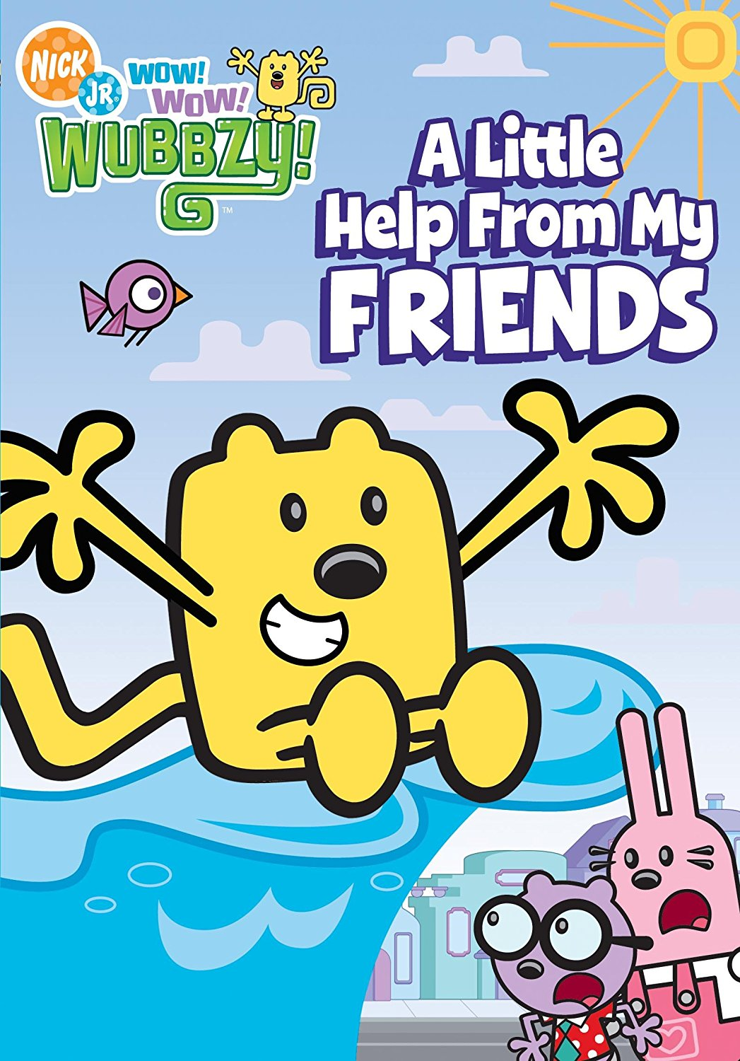 Nick Jr. Wow Wow Wubbzy A Little Help From My Friends Wubbzy
