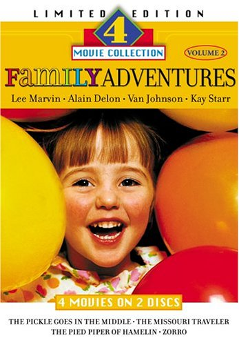 Family Adventures Volume 2 - Limited Edition Set, 4 Classic Movies On 2 Dvds