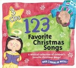 123 Favorite Christmas Songs 3 Cd Box Set - A Musical Collection Of Children's Favorites Baby Genius