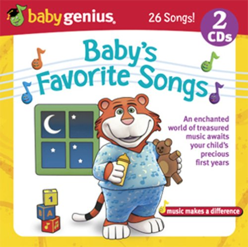 Baby's Favorite Songs - Treasured Music For Your Child's First Years 2 Cd Set Baby Genius