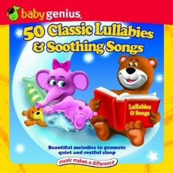 50 Classic Lullabies And Soothing Songs 2 Cd Set by Baby Genius