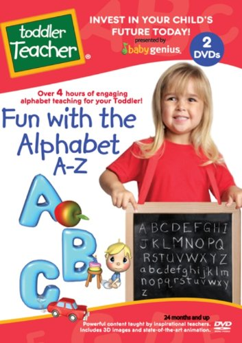 Fun With The Alphabet A-z 2 Dvd Educational Set Taught By Teachers by Toddler Teacher