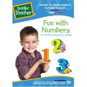 Fun With Numbers - A Child's First Introduction To Counting, Taught By Teachers Toddler Teacher