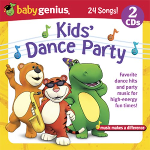 Kids Dance Party - Favorite Dance Hits And Party Music 2 Cd Set by Baby Genius