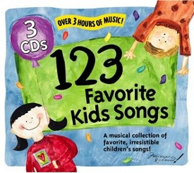 123 Favorite Kids Songs, A Musical Collection 3 Cd Box Set