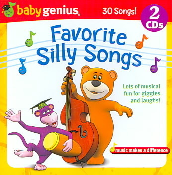 30 Kids Favorite Silly Songs And Sing Alongs - Musical Fun For Giggles And Laughs 2 Cd Set