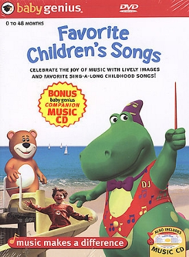 Favorite Children's Sing Along Songs Dvd + Bonus Cd Set by Baby Genius