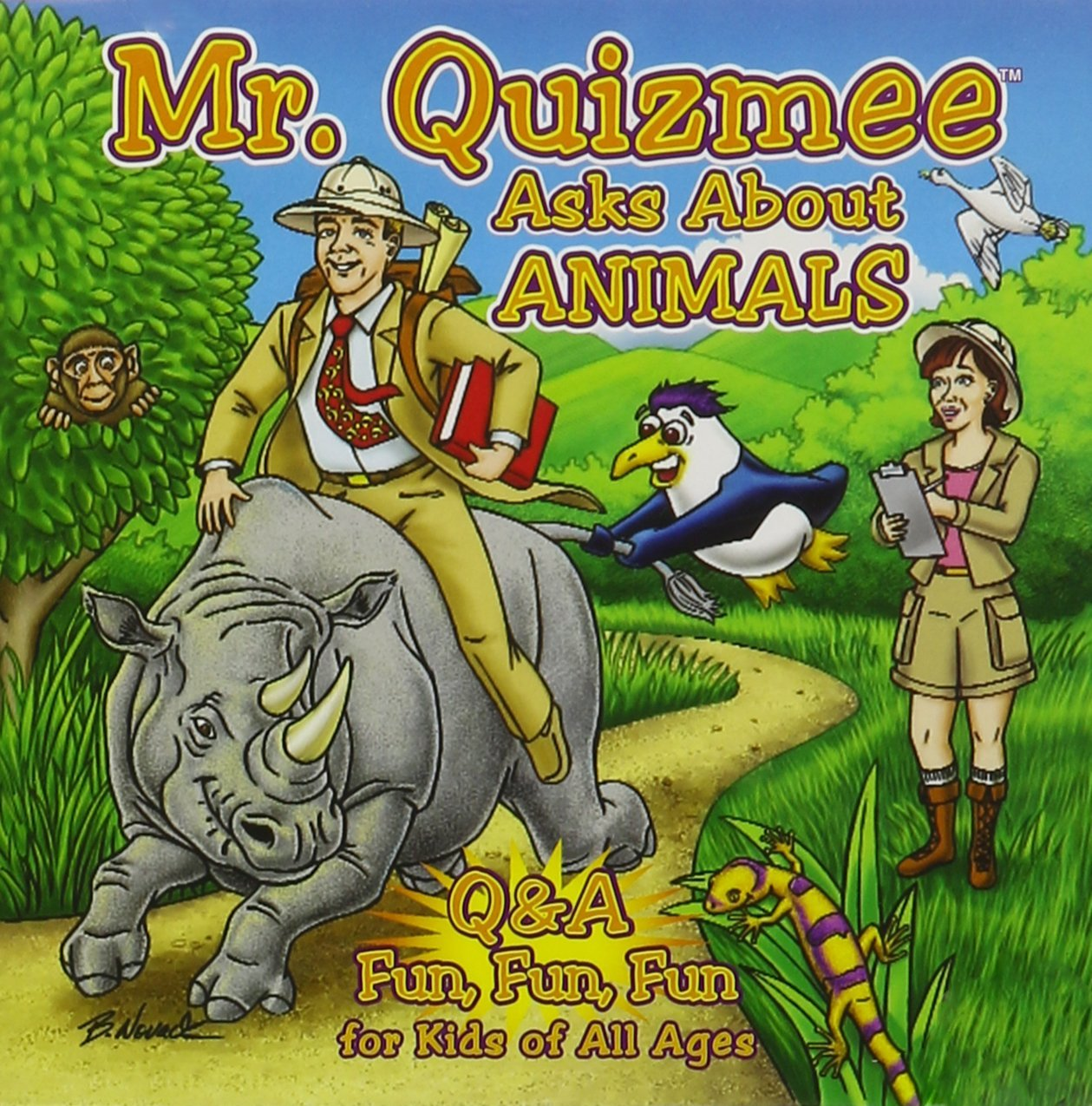 Mr. Quizmee Asks About Animals, Fun Q & A For Kids Of All Ages by Quizzenkids Productions