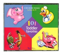 101 Toddler Favorite Hit Songs - Classic Music Collection 4 Cd Set
