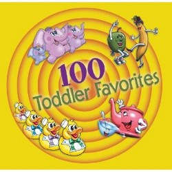 Various Artists 100 Toddler Favorite Songs 3 Cd Set