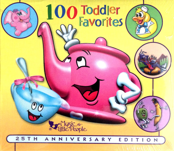 100 Toddler Favorites by Various Artists
