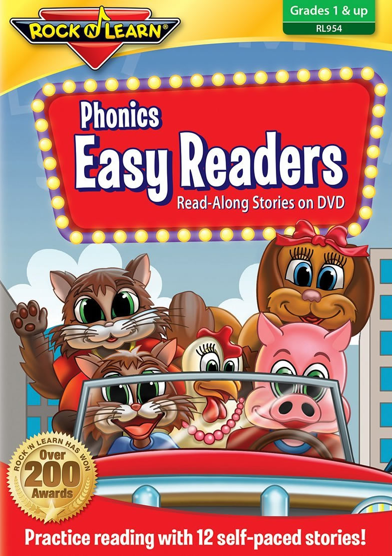 Rock 'n Learn Phonics Easy Readers On Dvd - A Program To Boost Reading Skills by Rock And Learn