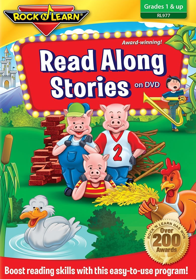 Rock And Learn Read Along Stories On Dvd - A Program To Boost Reading Skills by Rock And Learn