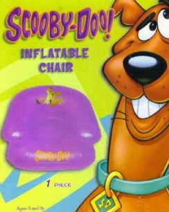 Scooby Doo! Inflatable Pool Chair Green Or Purple Color by Warner Brothers