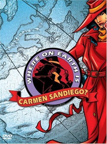 Where On Earth Is Carmen Sandiego? The Complete First Season 3 Disc Box Set by Carmen San Diego