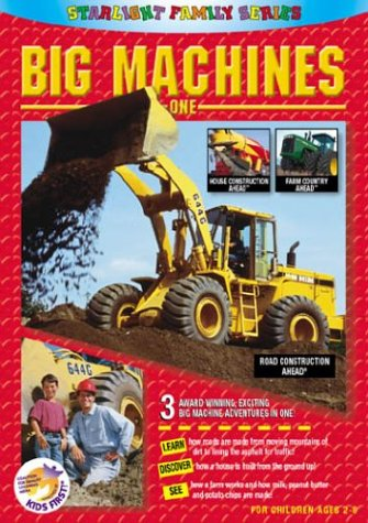 Big Machines One (volume 1) By Fred Levine And Little Hardhats by Fred Levine