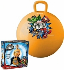 Marvel Super Hero Squad Inflatable Hopper Ball Marvel