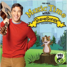 Music Time With Stevesongs Volume 1 (pbs Kids) by Stevesongs