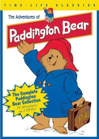 Time Life Classics Adventures Of Paddington Bear - 14 Episodes On 2 Dvds - 42 Stories - The Complete Collection