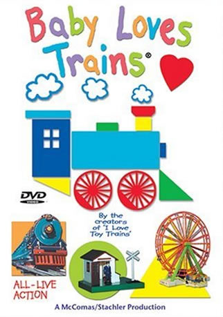 Baby Loves Trains - All-live Action Dvd by James Coffey