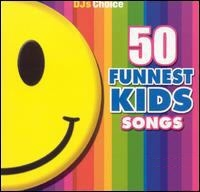 50 Funnest Kids Songs W/ Free Fun Coloring Book Dj's Choice