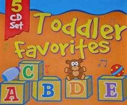 Toddler Favorites - Tv, Learning, Dancing And More Songs 5 Cd Set by Various Artists