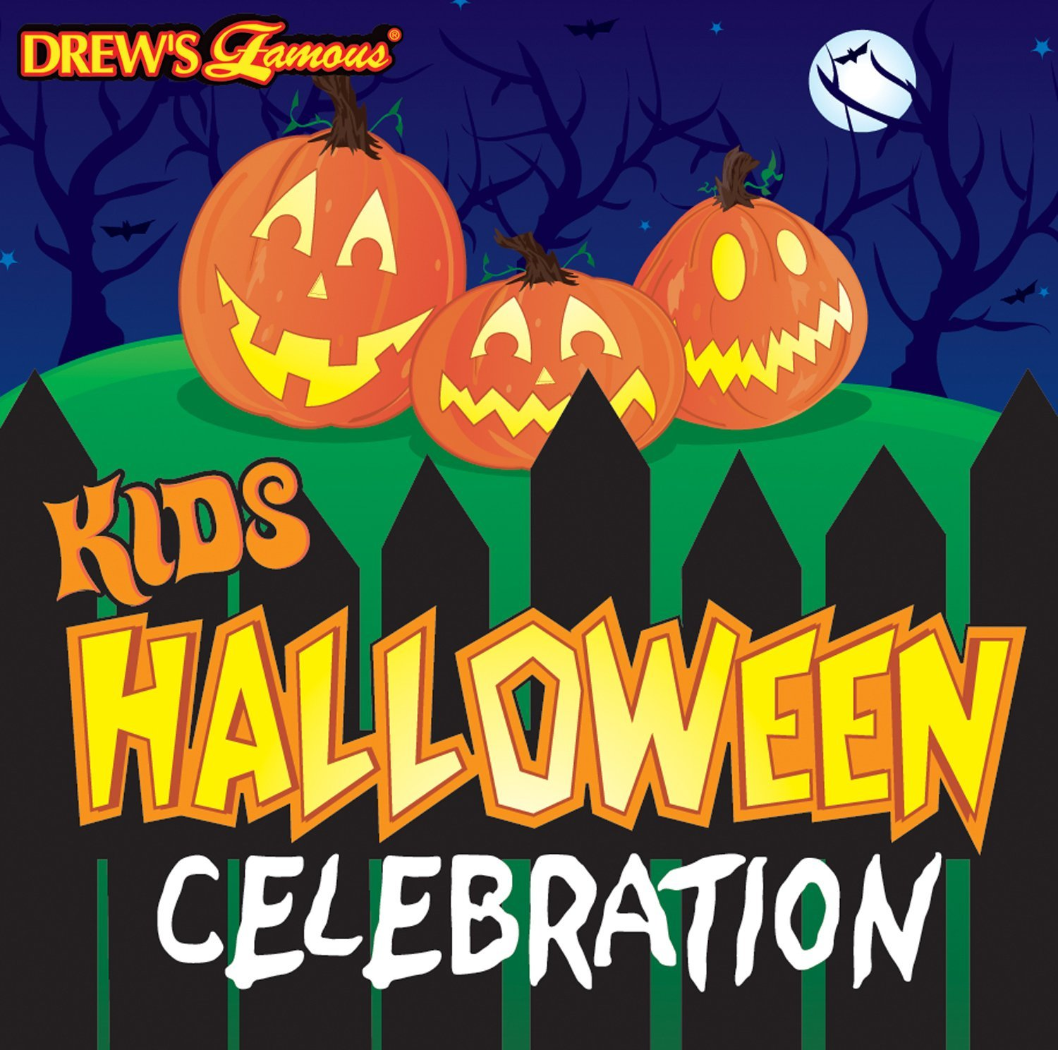 Kids Halloween Celebration Music Songs Sounds And Stories by Drew's Famous