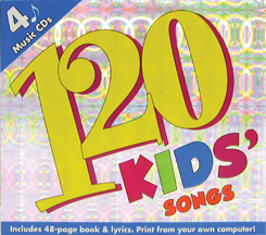 120 Kids Silly, Party, Playtime, Learning Songs - 4 Full Length Cd Music Bonus Set [enhanced] by Twin Sisters