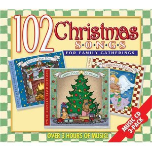 102 Christmas Holiday Songs For Family Gatherings - 3 Cd Box Set Twin Sisters