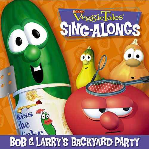 bob larry 39 s backyard party 15 great songs by veggie tales cd