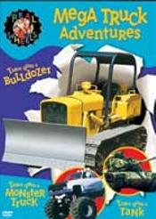 Real Wheels - Mega Truck Adventures (tank, Monster Truck, Bulldozer) by Real Wheels
