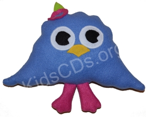 Zee Stuffed Toy Soft Plush Noggin Tv